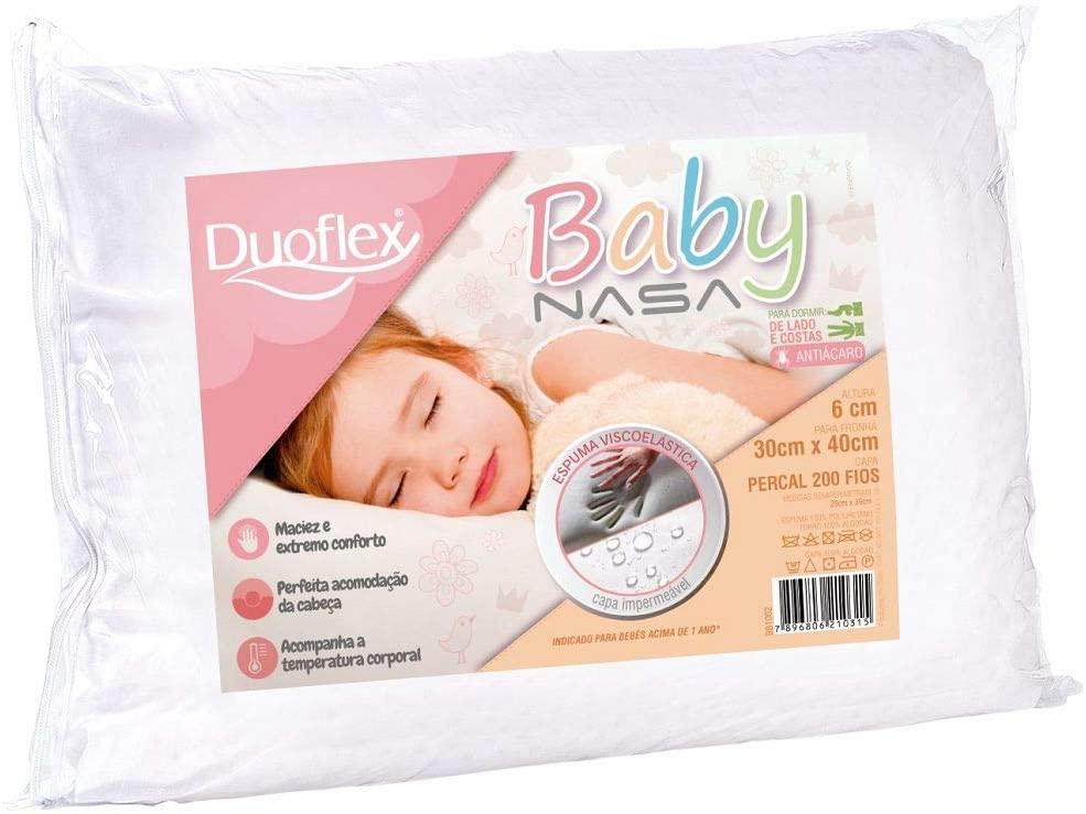 Travesseiro Baby, Nasa