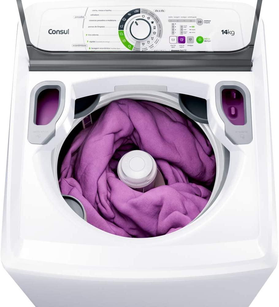 Máquina de Lavar Consul 14Kg branca
