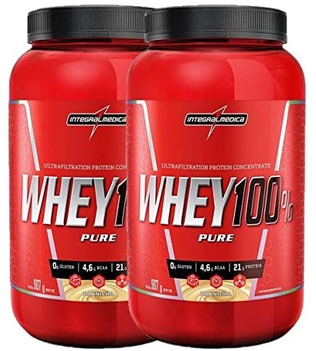 Kit 2x Whey 100% Pure
