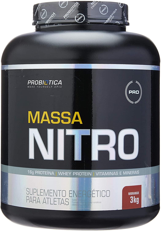 Massa Nitro Morango