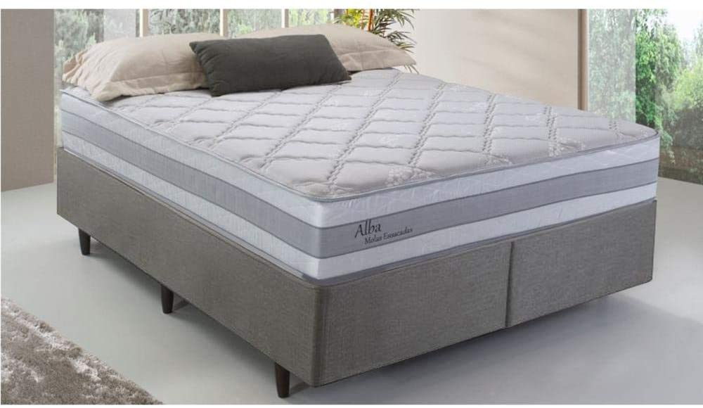 Cama Box Queen Herval Alba, Molas