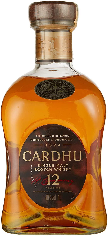 Whisky Cardhu 12 Anos, 1L