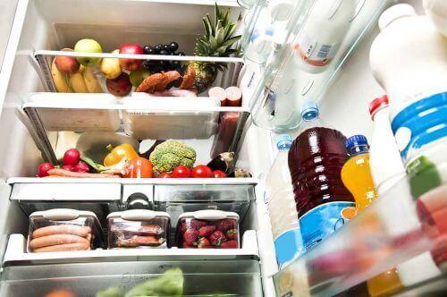 geladeira organizada