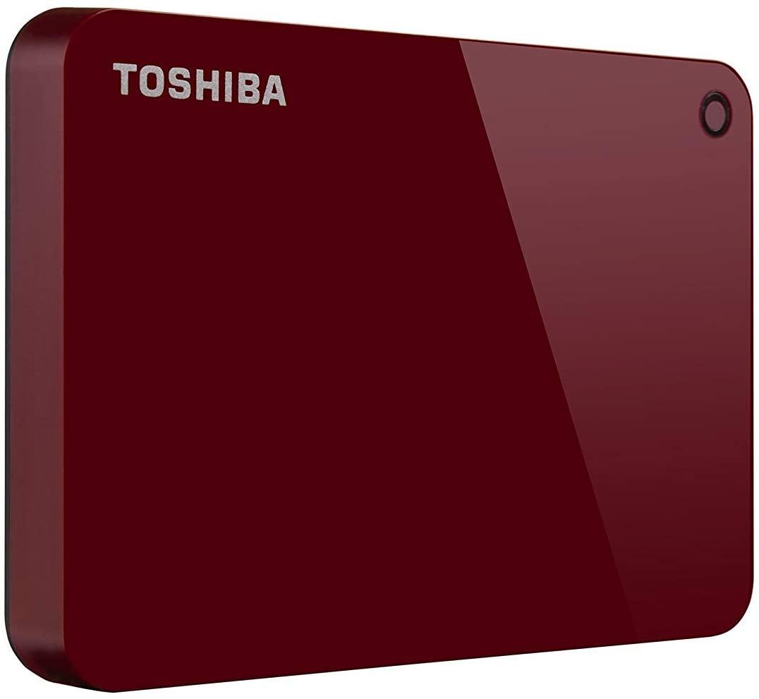HD Externo Portátil Toshiba Canvio