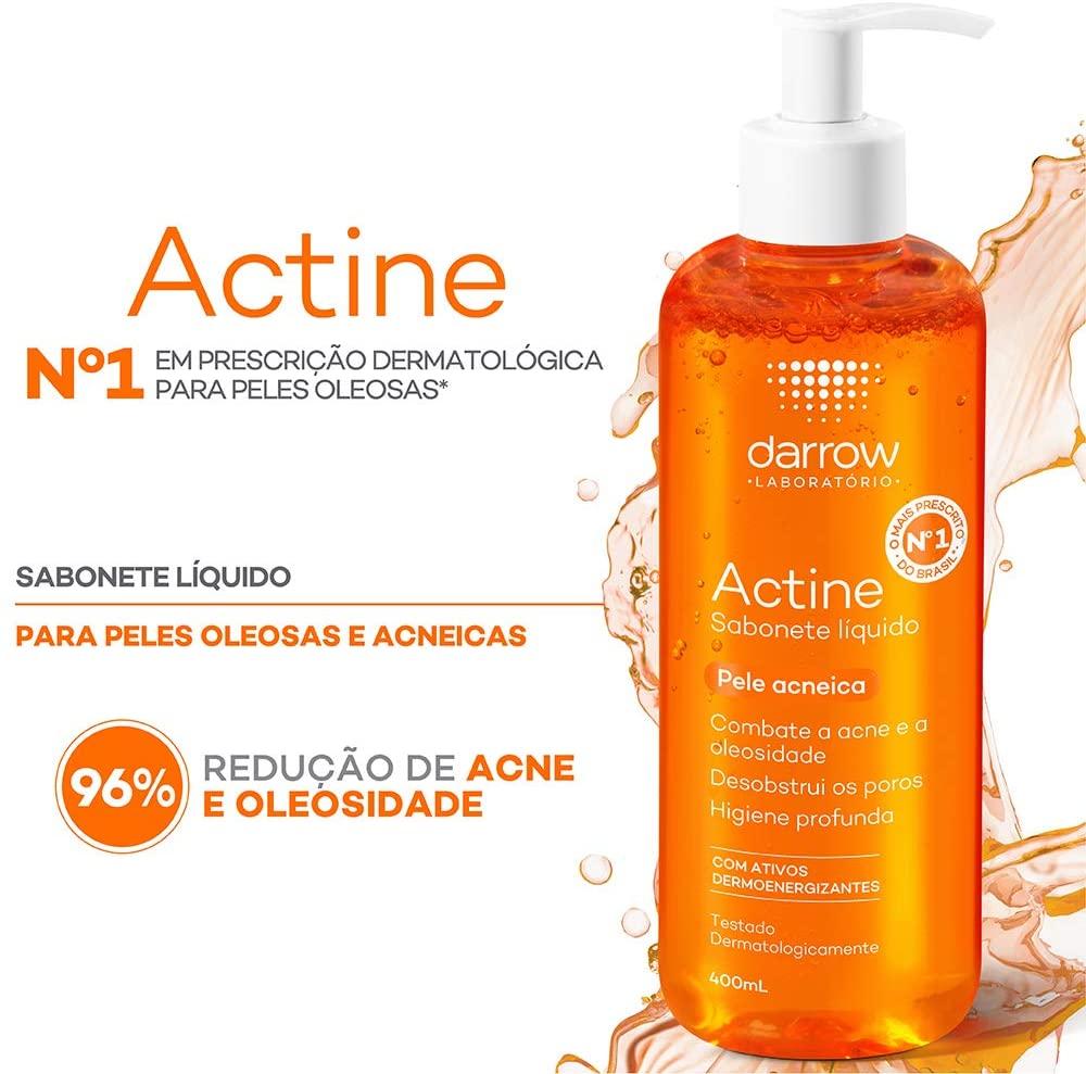 Actine Sabonete Líquido, pele oleosa