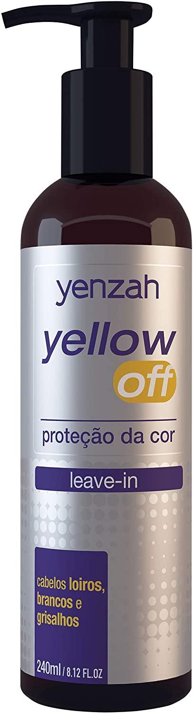 Leave-in Yellow Off, Yenzah, Branco