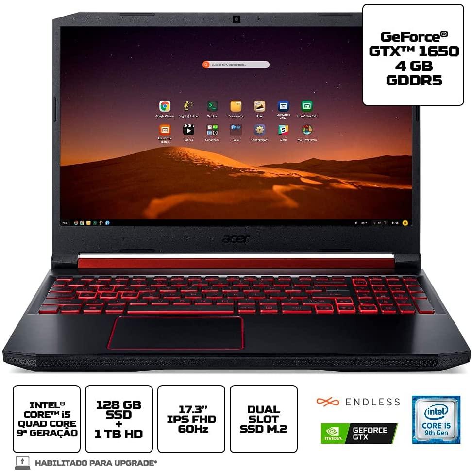 Notebook Gamer Aspire Nitro 5 AN517-51-55NT Intel