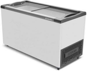 Freezer Expositor Horizontal Metalfrio Branco