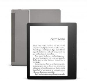 Kindle Oasis 32GB Agora com temperatura de luz ajustável