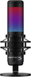 Microfone Gamer HyperX QuadCast S, Antivibração
