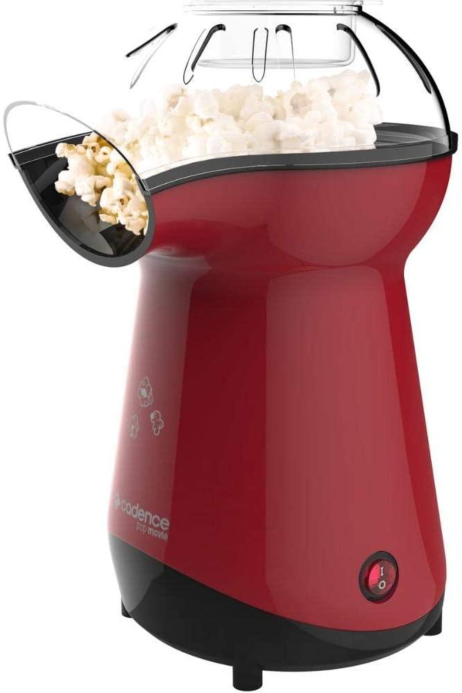 Pipoqueira Elétrica, Pop Movie, Vermelho