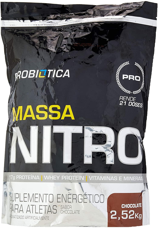Massa Nitro, Probiótica, Chocolate
