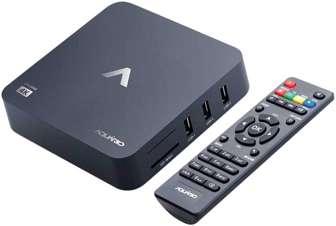 Smart TV Box, Aquario