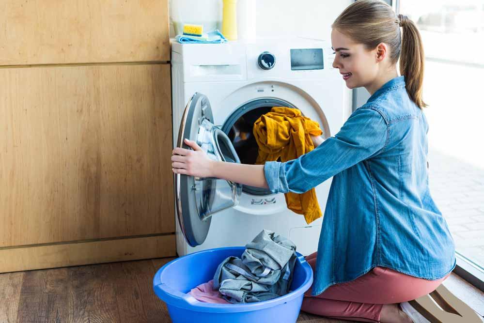 como usar a Máquina de Lavar Roupas